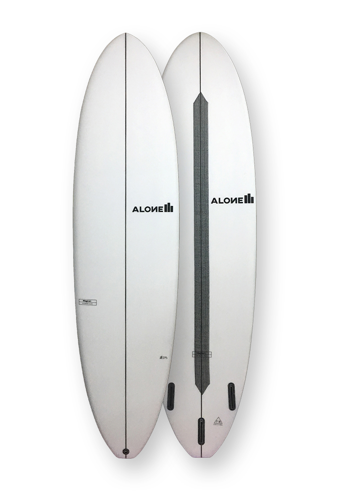 Alone surfboards magnet