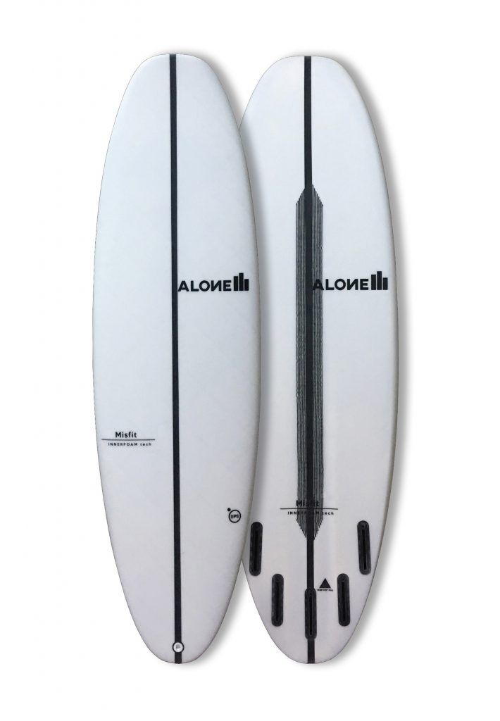 Alone surfboards misfit
