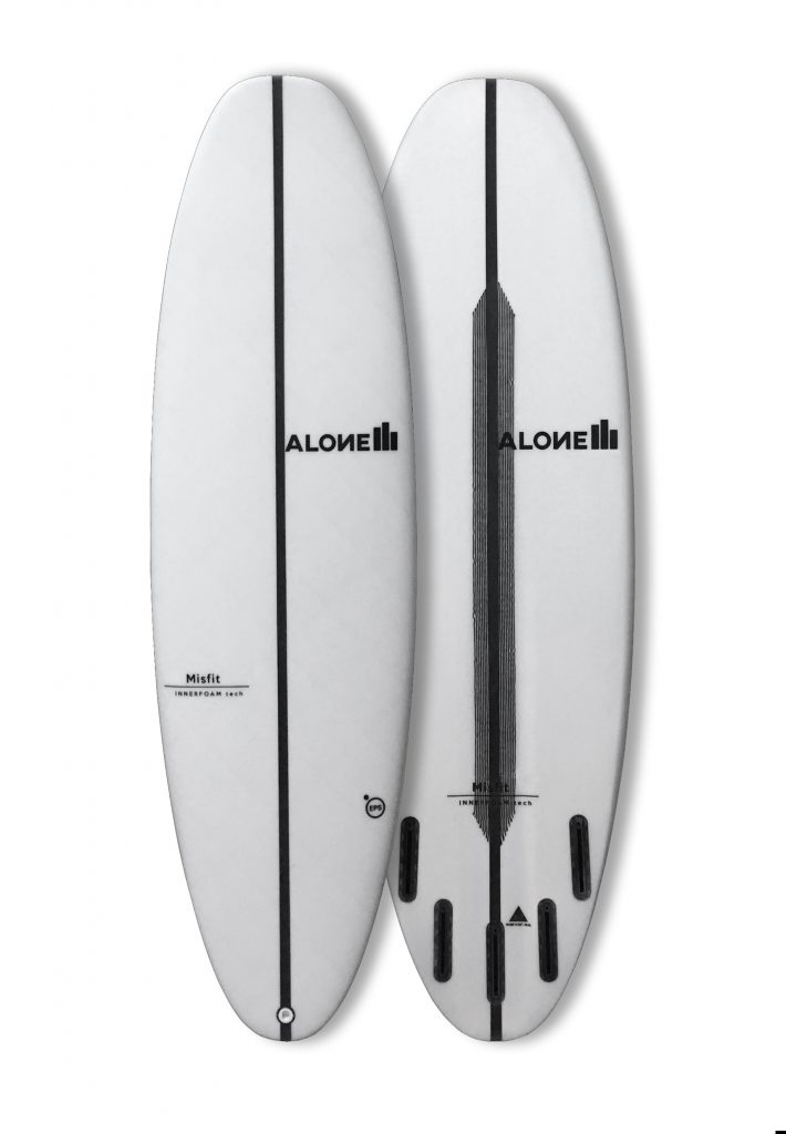 misfits Alone surfboards
