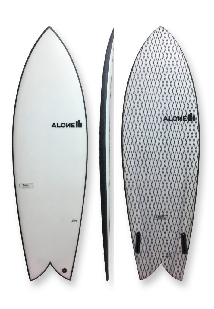 Alon e surfboards twinny_eps