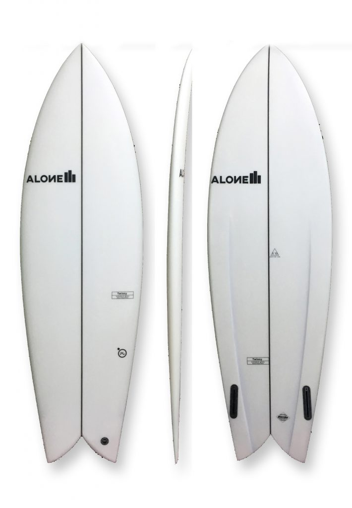 Alone surfboards twinny_pu